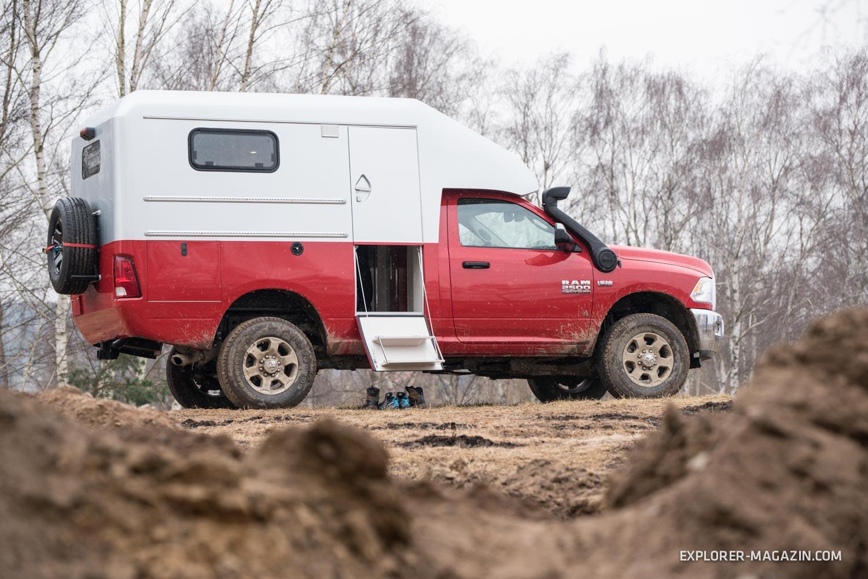 probefahrt mit einem us pickup ram 2500 carbon camper. Black Bedroom Furniture Sets. Home Design Ideas