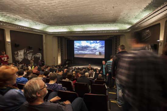Kinosaal Schauburg mit Premiere Herr Lehmann