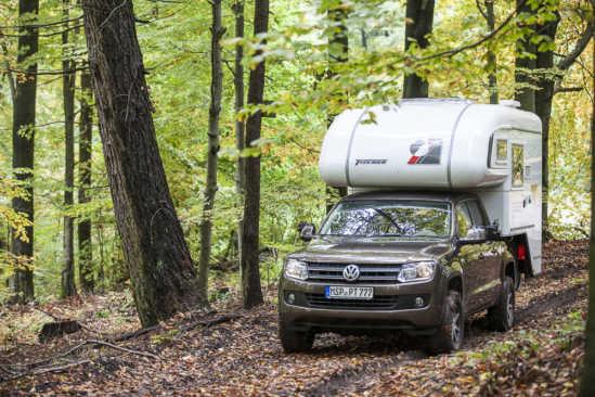 Tischer Trail 260s auf VW Amarok XL
