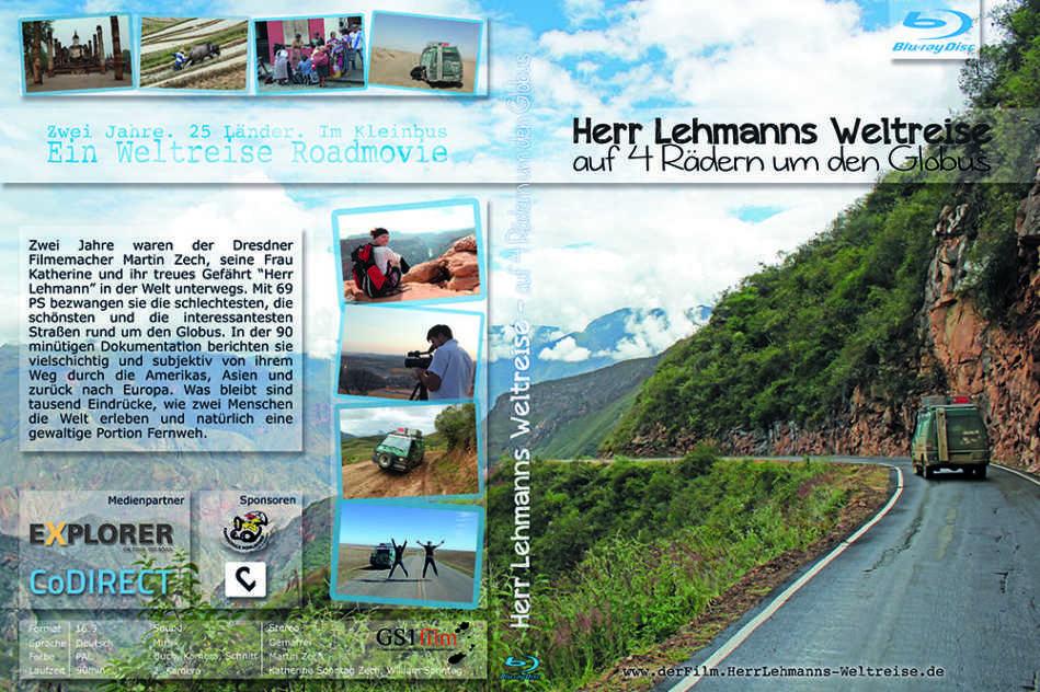 Herr Lehmanns Weltreise Cover Bluray