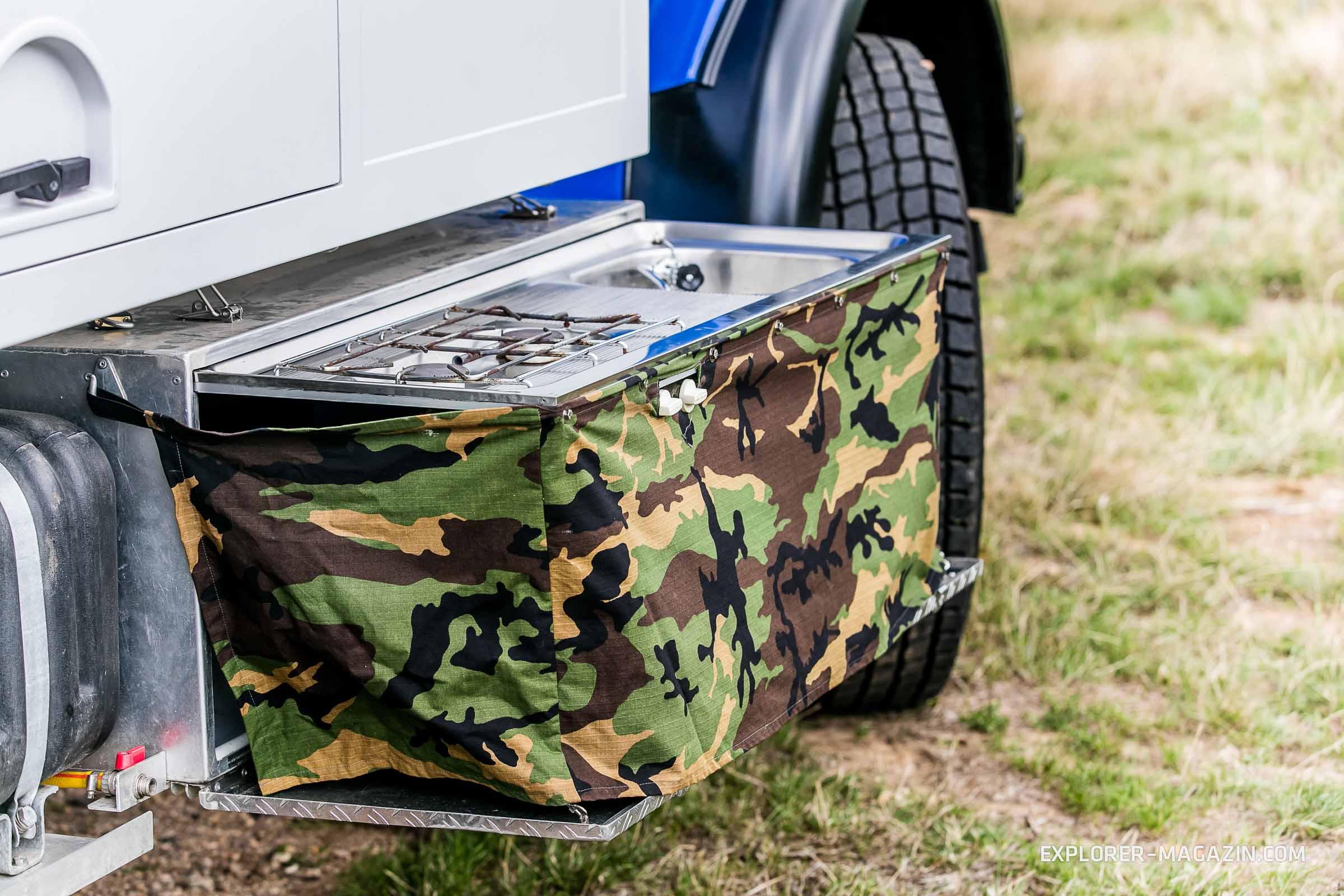 Daimler Benz LA 911 Kurzhauber
