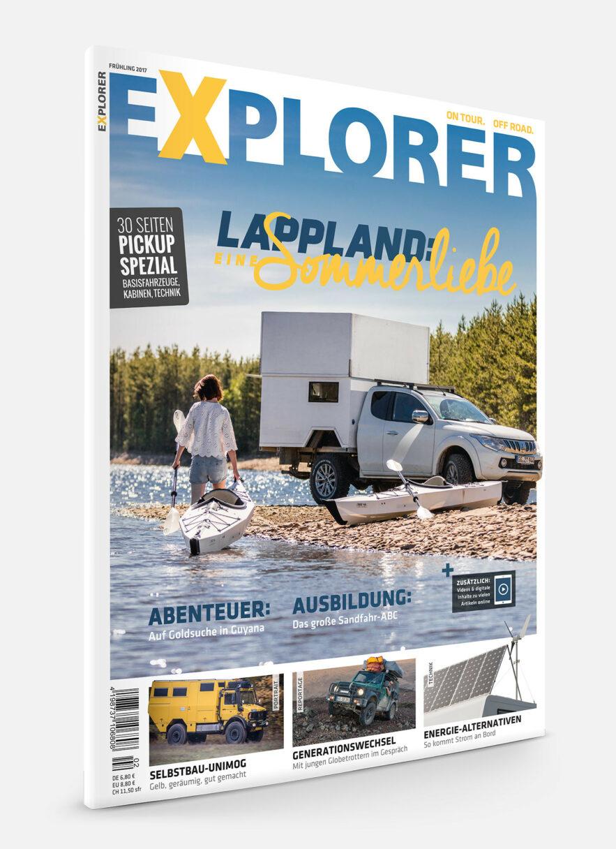 EXPLORER Ausgabe Frühling 2017