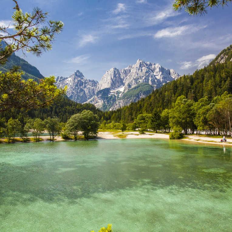 Slowenien Offroad – ein Land in weiß, blau und grün