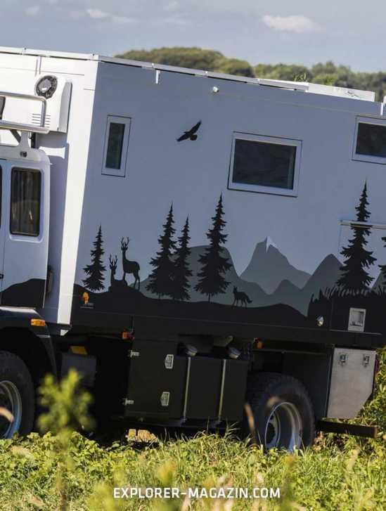MAN LE 14.250 Allrad Wohnmobil von Füss