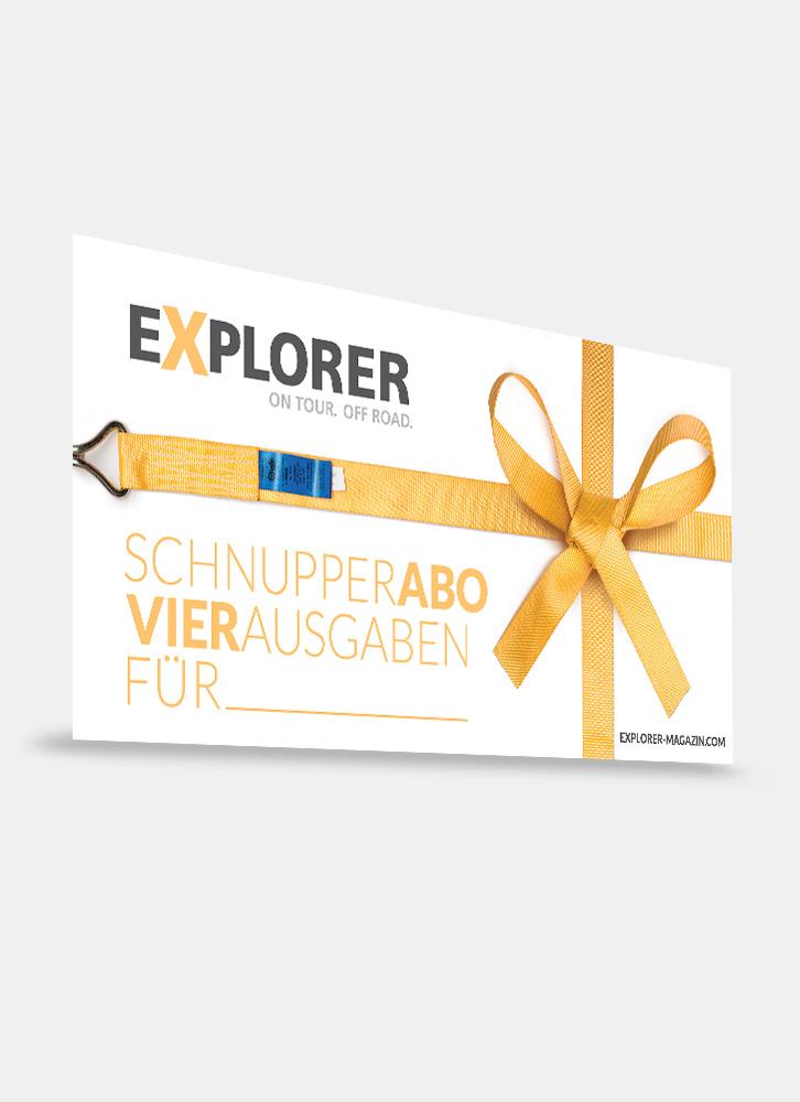 EXPLORER Shop Geschenkabo