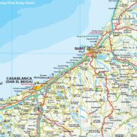 Marokko Landkarte Explorer Magazin