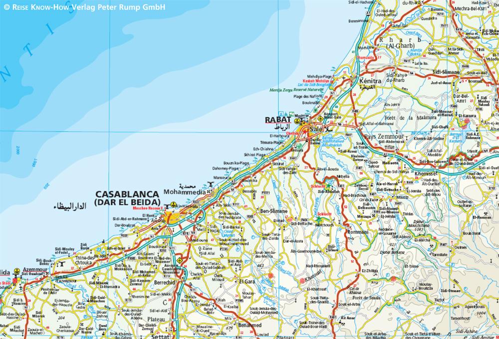 marokko landkarte Marokko Landkarte | EXPLORER Magazin marokko landkarte