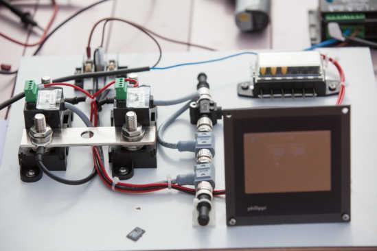 EXPLORER Solarmodul Test