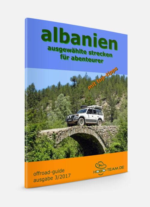 Albanien Offroad Reiseführer