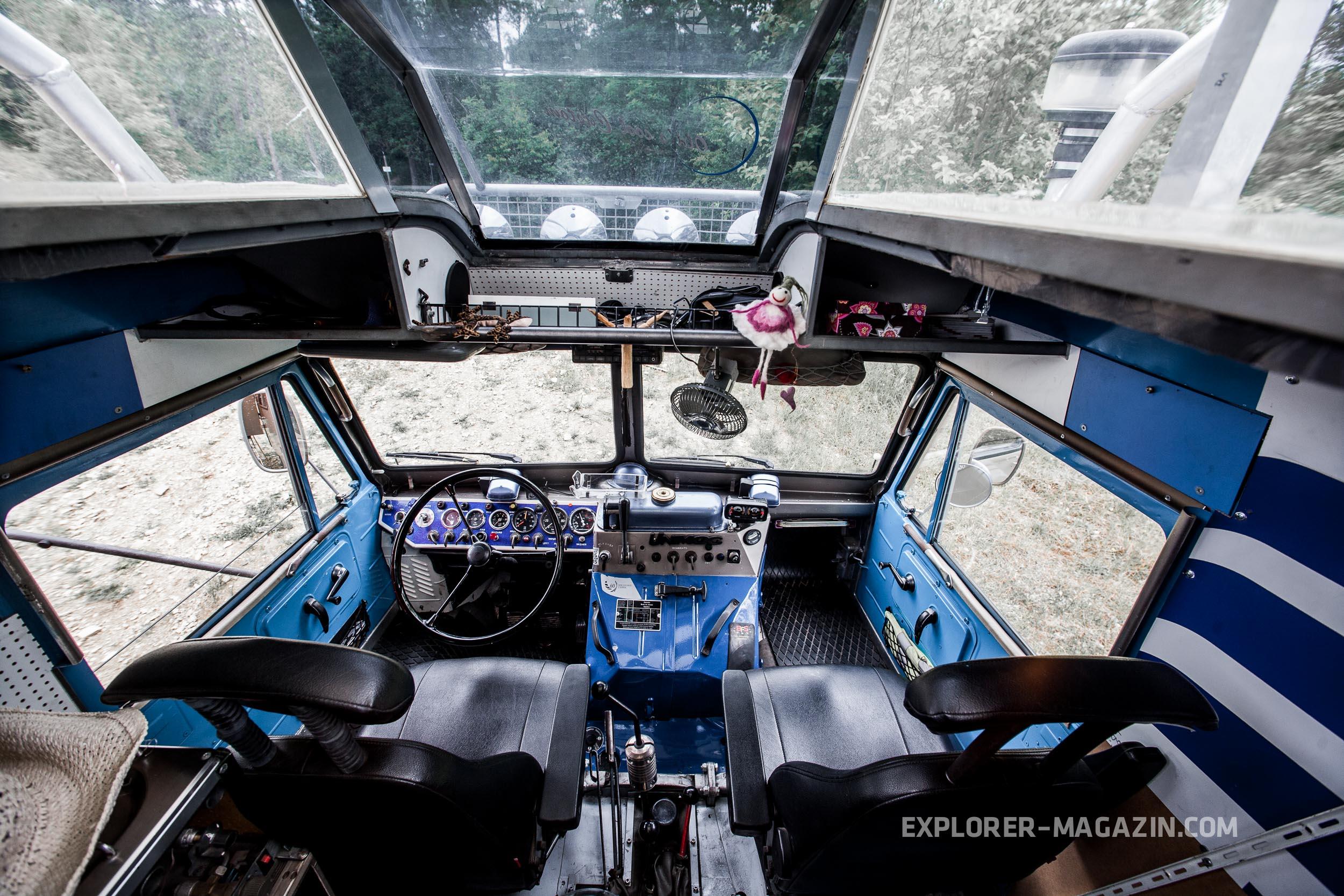 Unimog 4045 Expeditionsfahrzeug