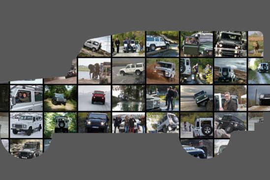 Land Rover Defender Momente