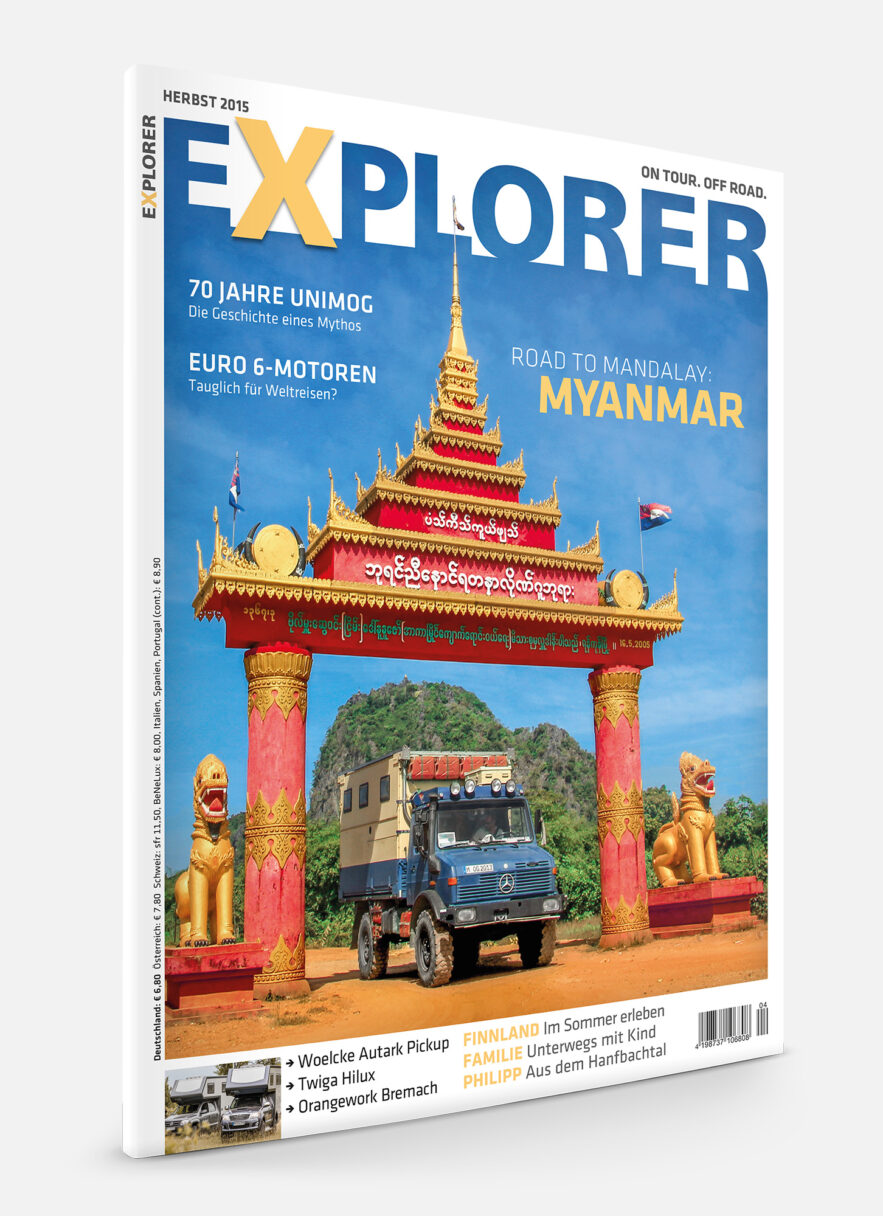 EXPLORER Ausgabe Herbst 2015