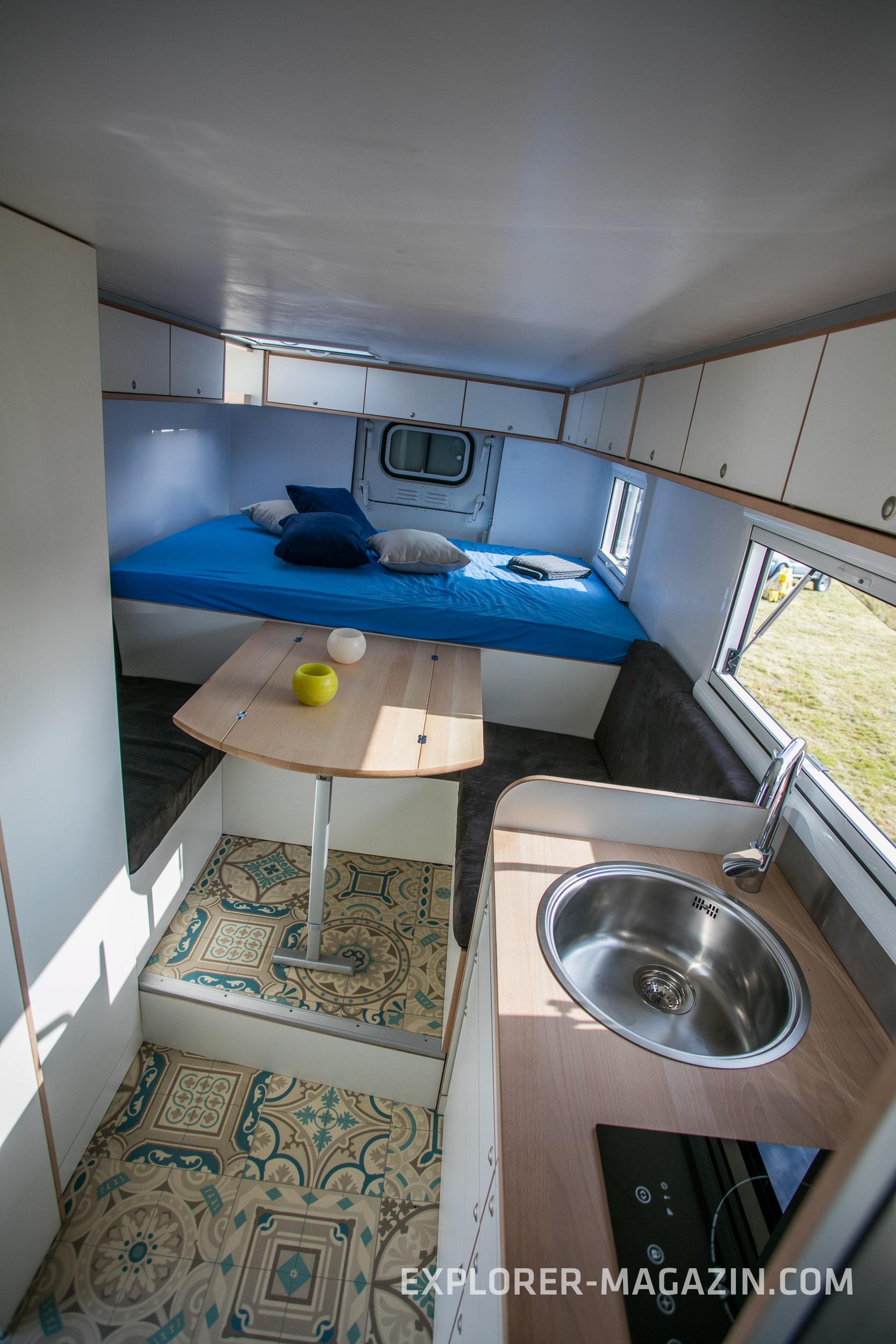 Umbau Alter Shelter Zu Zivilen Wohnkabinen 4wheel24