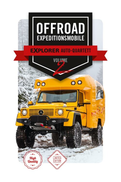 Auto Quartett Offroad Wohnmobile und Expeditionsmobile