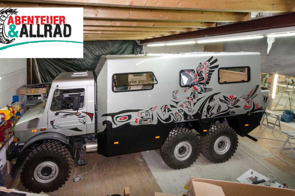 Offroad Leichtbau Manufaktur Unimog 6x6