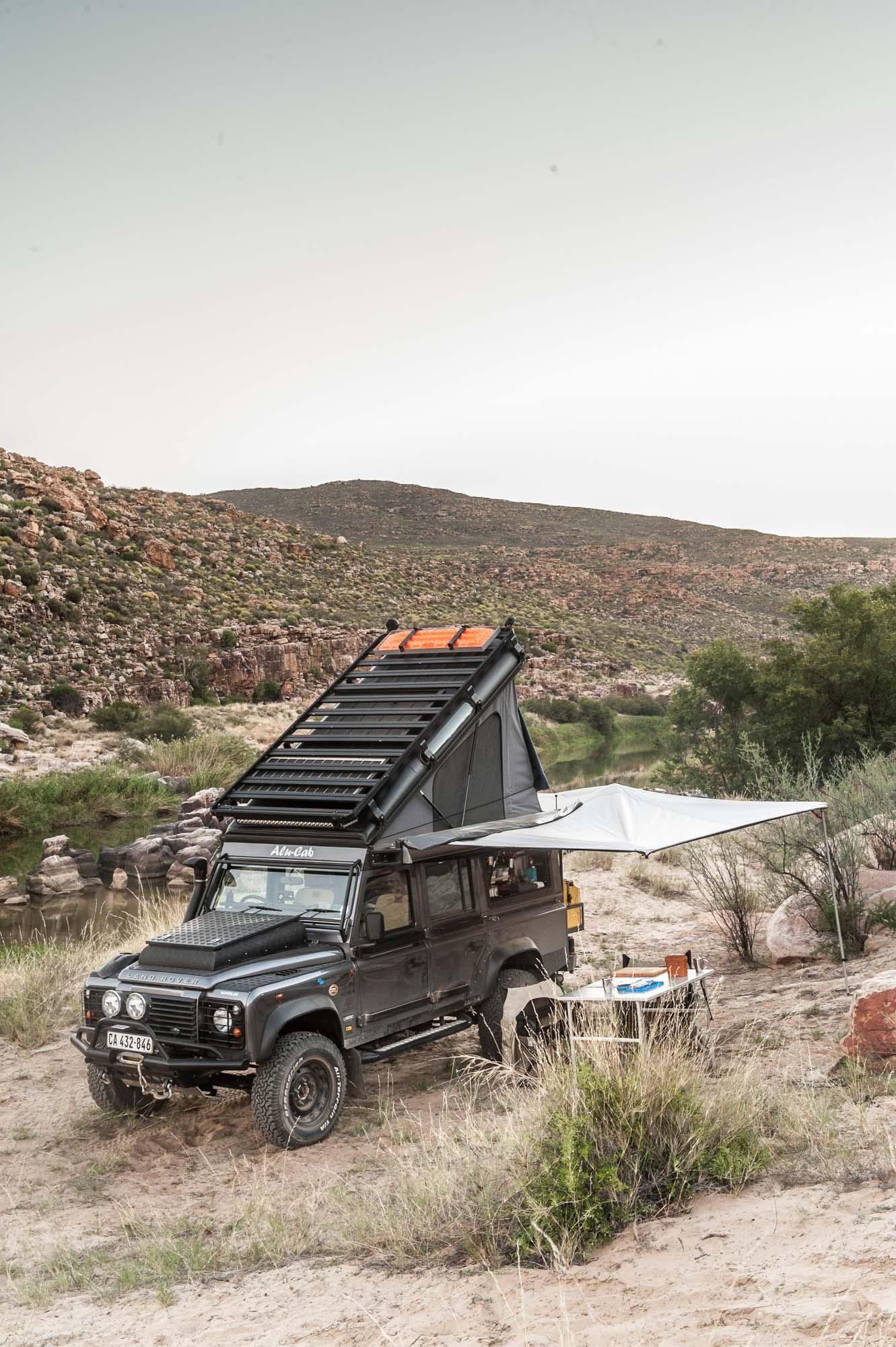 Aufstelldach Land Rover Defender 110