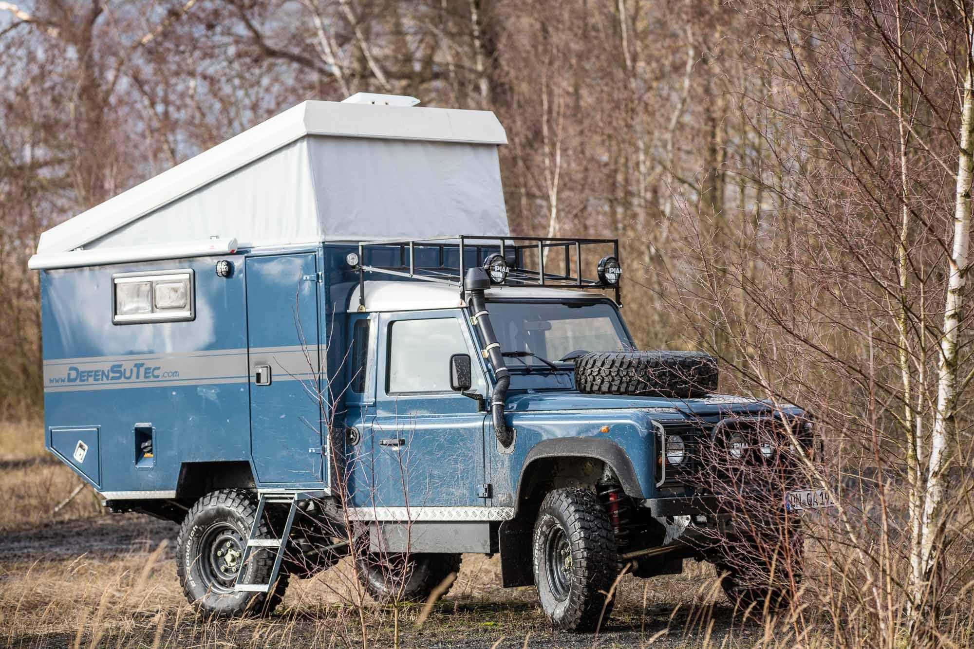Aufstelldach Land Rover Defender