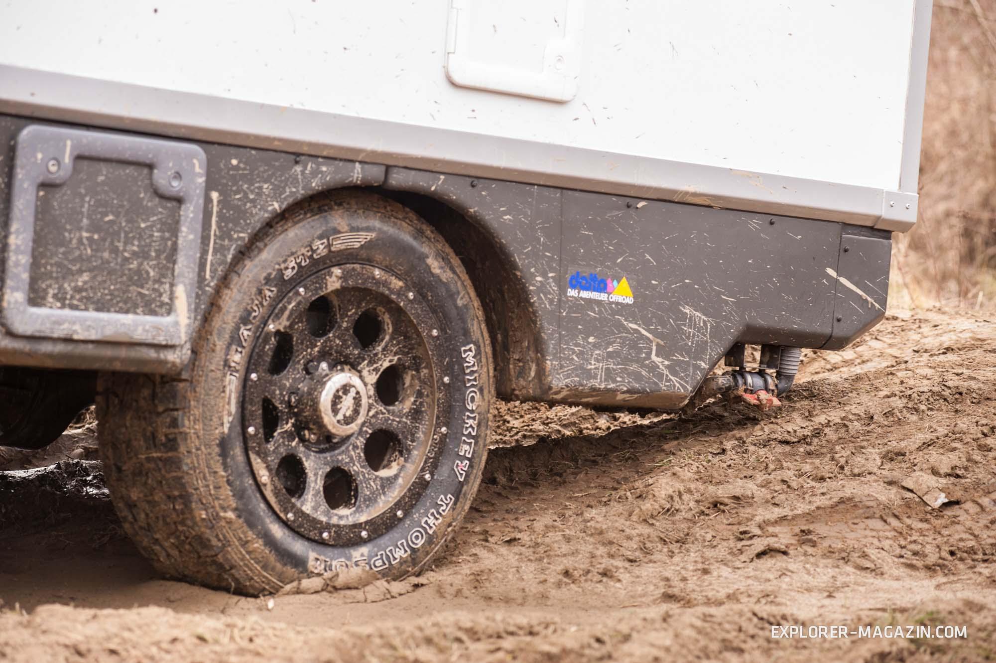 Burow Oman Ford Ranger Pickup Test