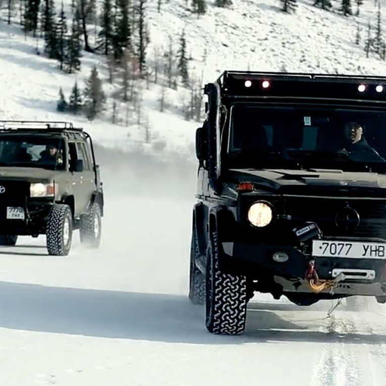 Mongolei Winter Overland Video