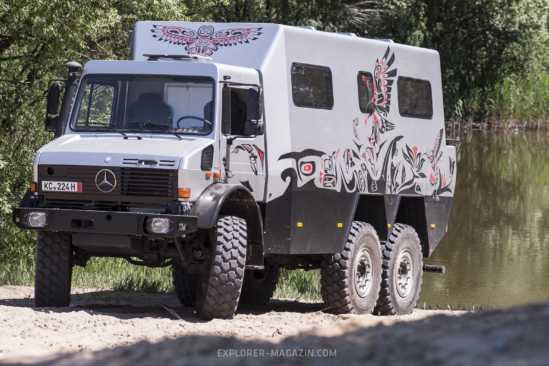 Unimog 6x6 Expeditionsfahrzeug