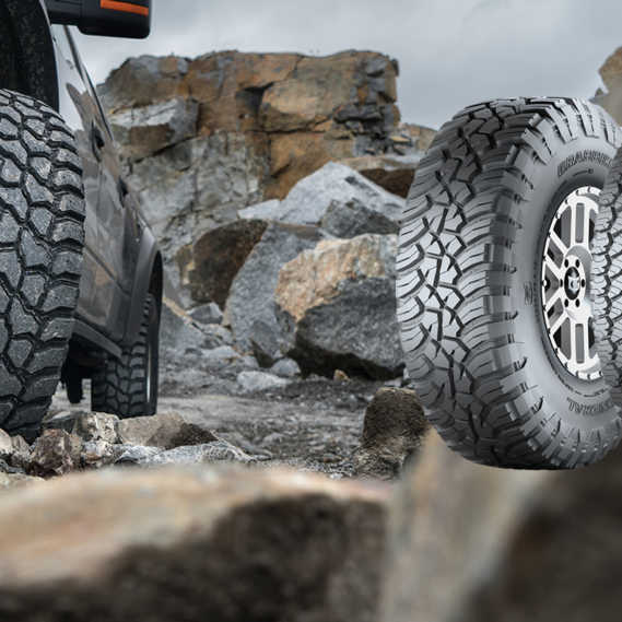 General Tire und Nokian Rockproof