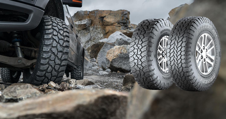 General Tire und Nokian Rockproof