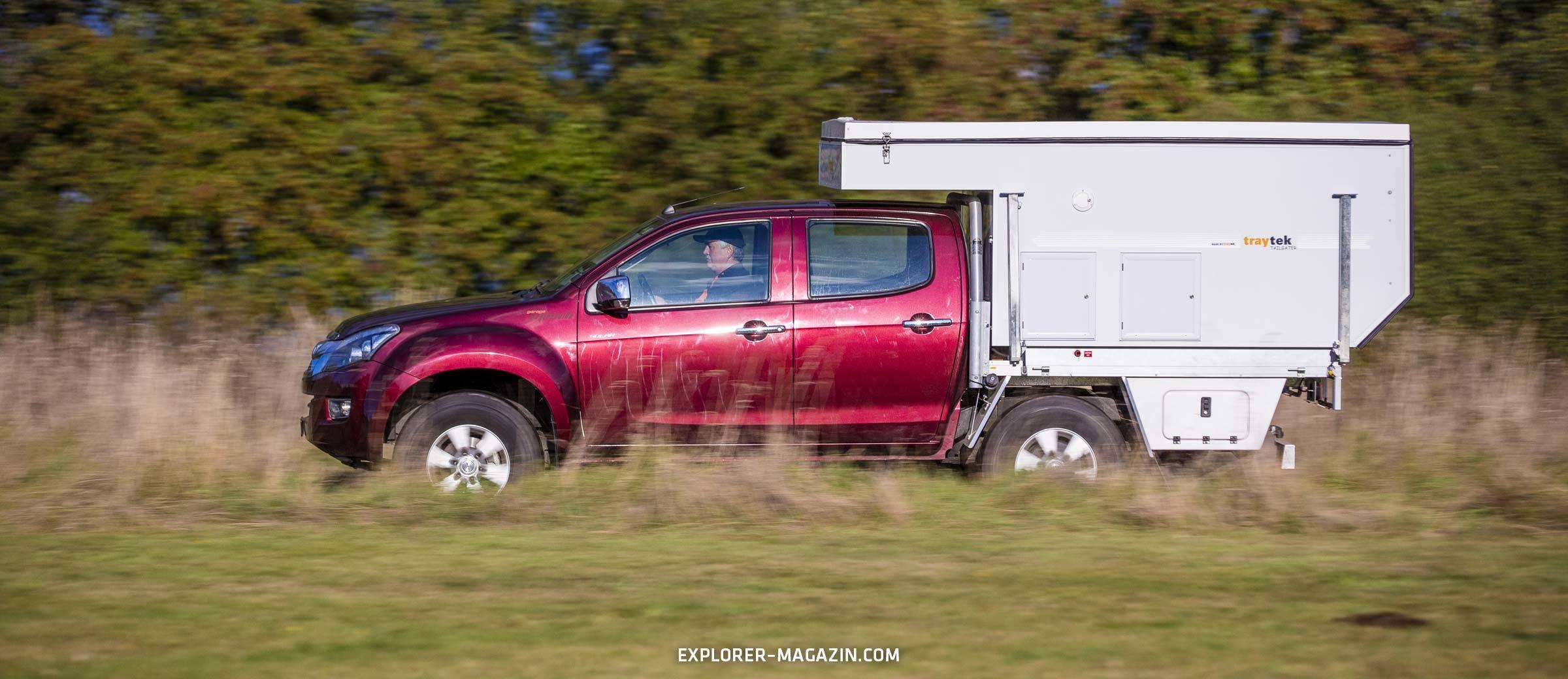 Pickup Aufstelldachkabine - Trayon Traytek Tailgater