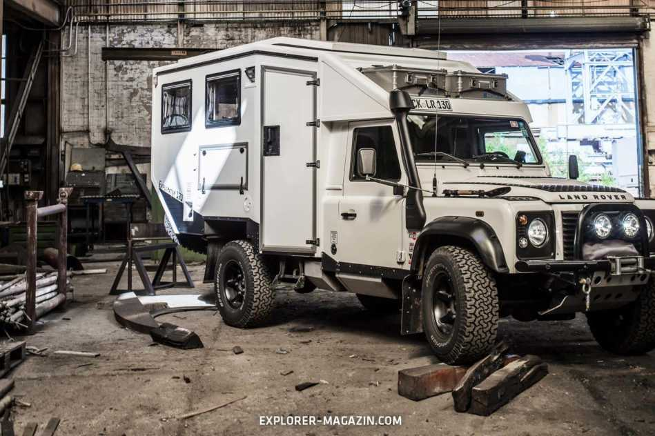 Land Rover Defender 130 Singlecab - Explorator Expeditionsfahrzeug