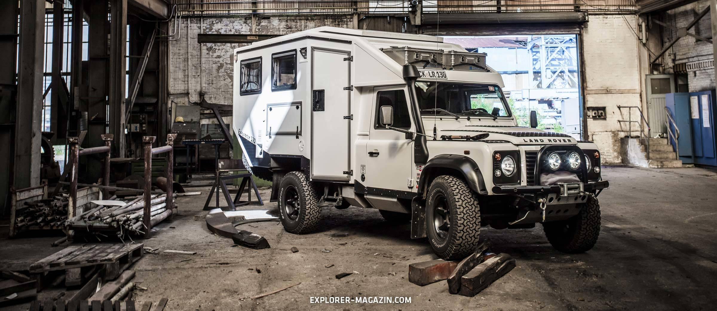 Land Rover Defender 130 Singlecab - Explorator Expeditionsfahrzeug