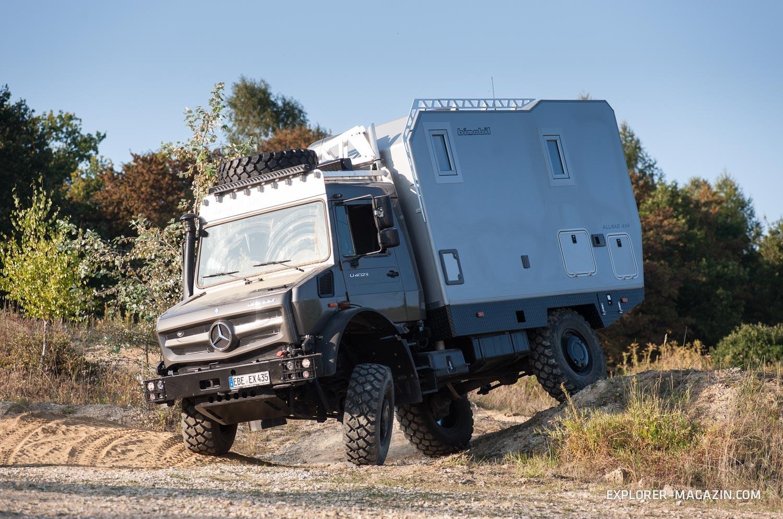 Bimobil EX435 - Unimog Test