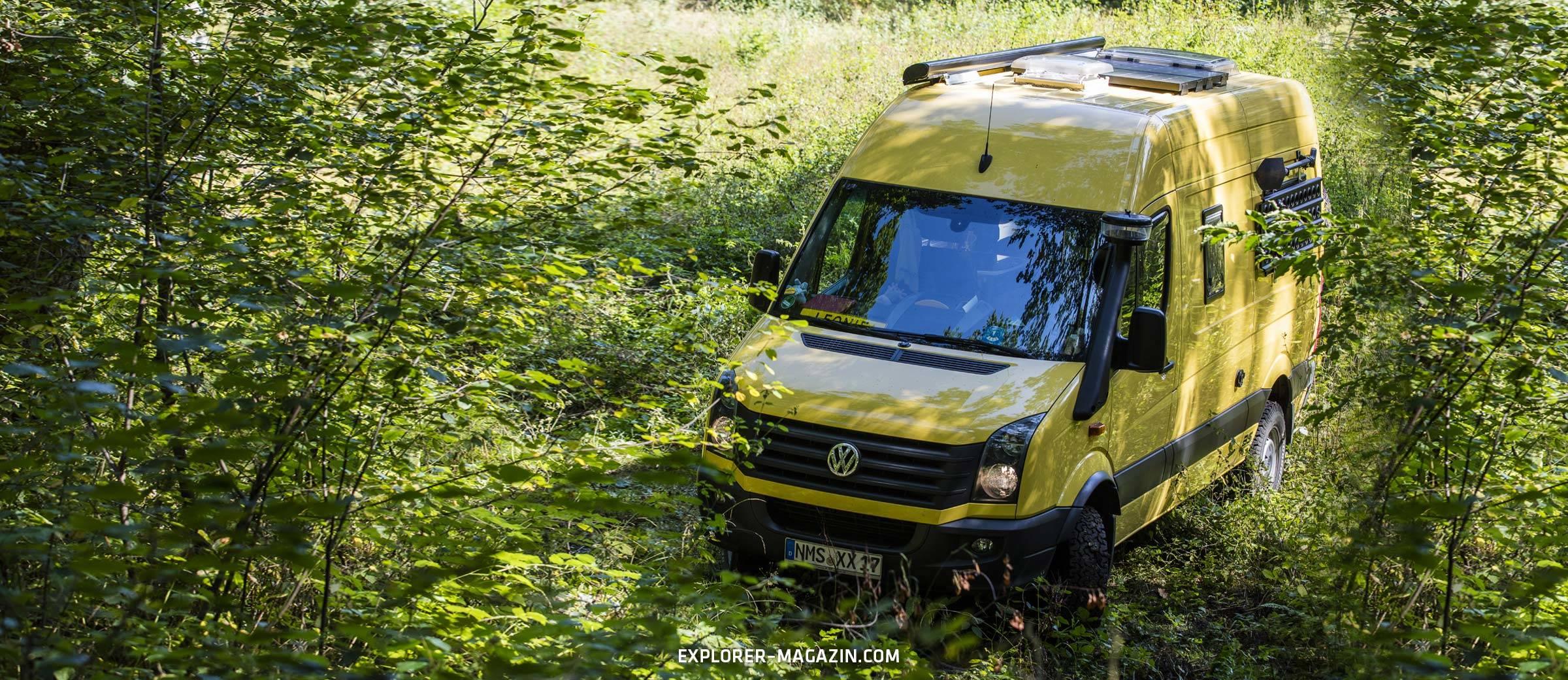 VW Crafter 4motion Wohnmobil von BS Camperwerk