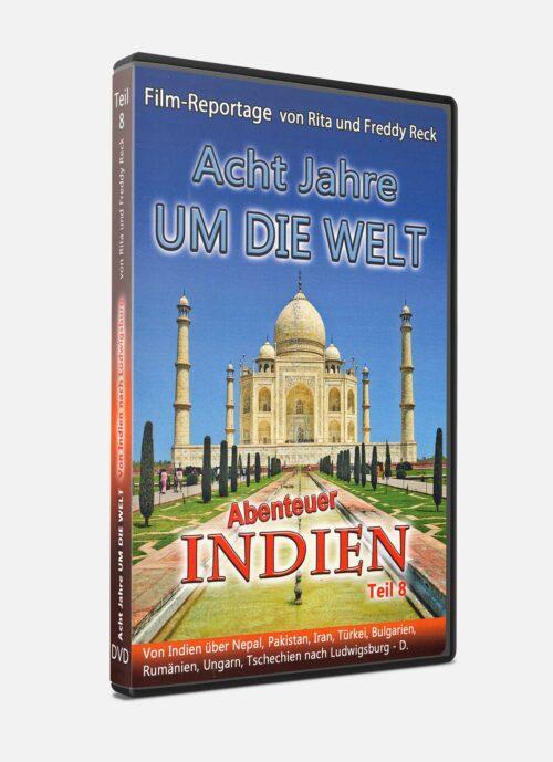 Acht Jahre um die Welt – Teil 8 - Indien - DVD
