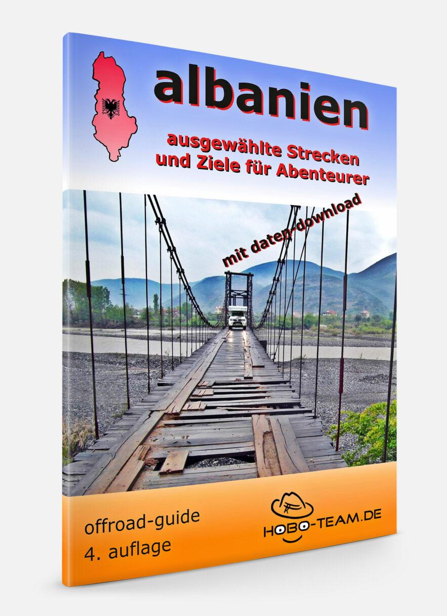 Albanien Offroad Guide Book 4x4 Touren Buch