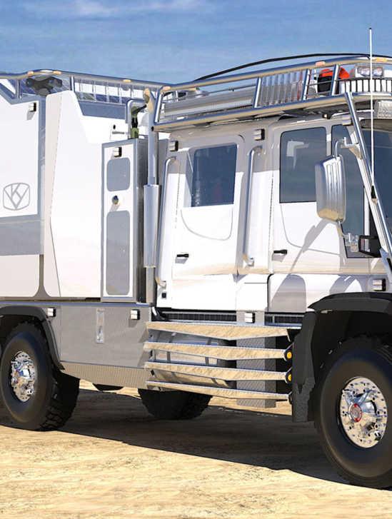 Kiravan - extremes Expeditionsmobil