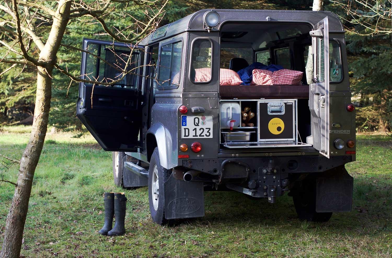 Herausnehmbare Campingeinheiten F 252 R Land Rover Defender