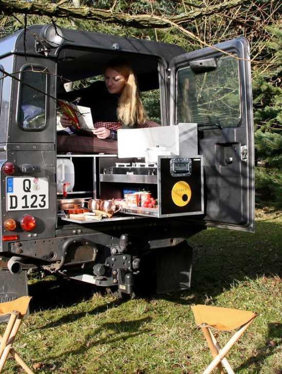 QUQUQ Land Rover Defender Camping Ausbau