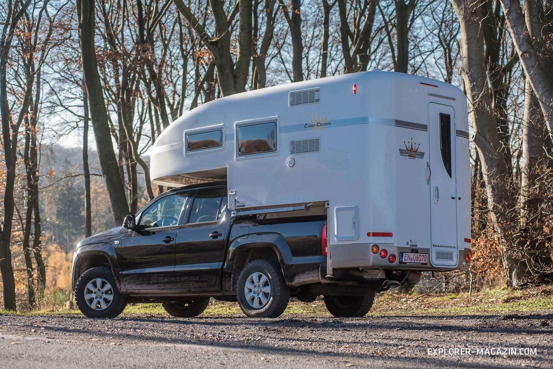 Camp Crown Mono Absetzkabine Pickup