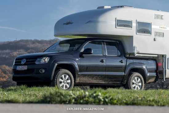 Camp Crown Mono Pickup Absetzkabine