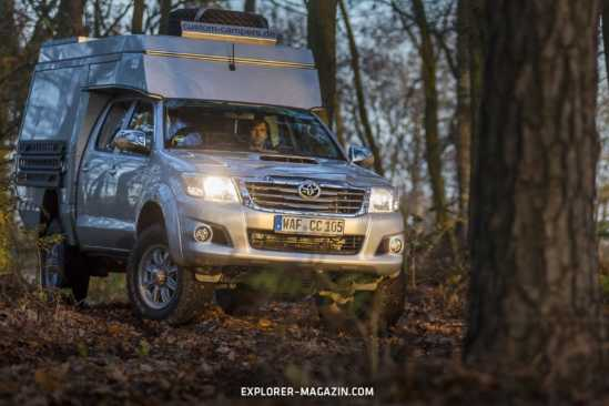Toyota Hilux Panamericana Doppelkabine – Custom Campers