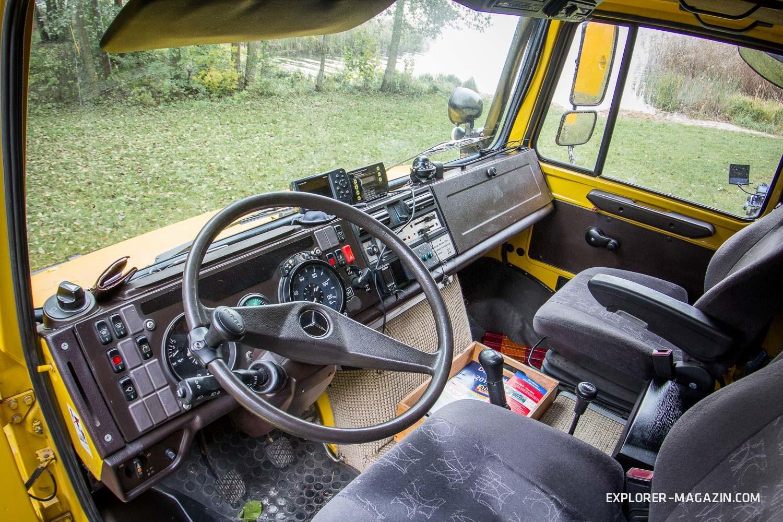 Unimog U2450 Expeditionsfahrzeug