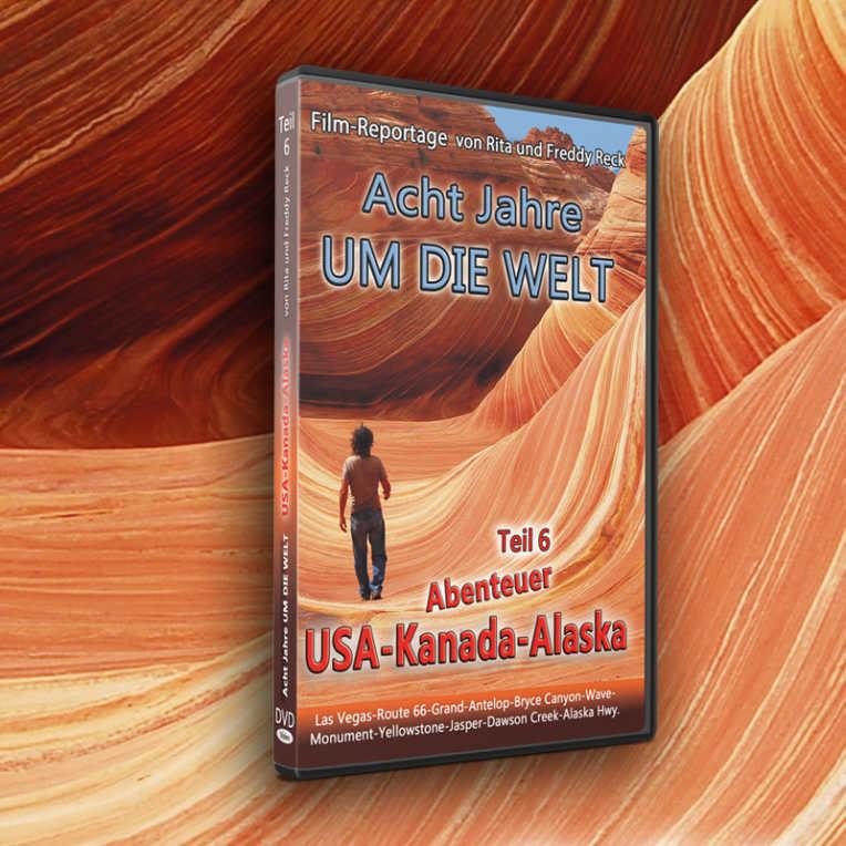 Acht Jahre um die Welt - Reck DVD Teil 6 - USA Kanada Alaska