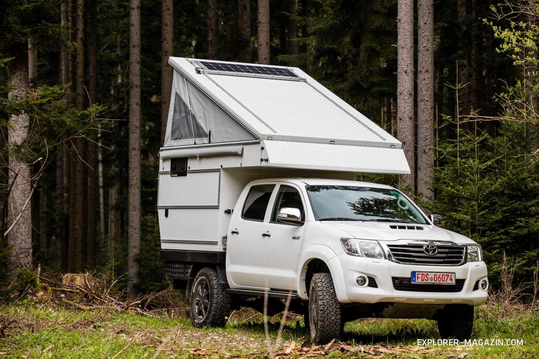 Toyota Hilux Nestle Exkab 4s gegen Le-Tech Lennson 3C Mercedes-G – Vergleichstest