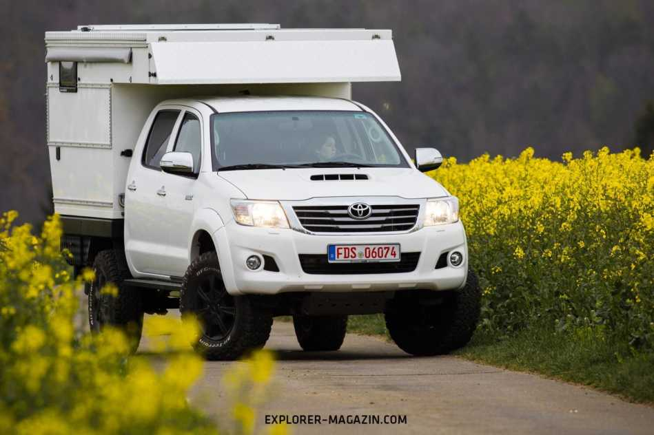 Toyota Hilux Nestle Exkab 4s Test