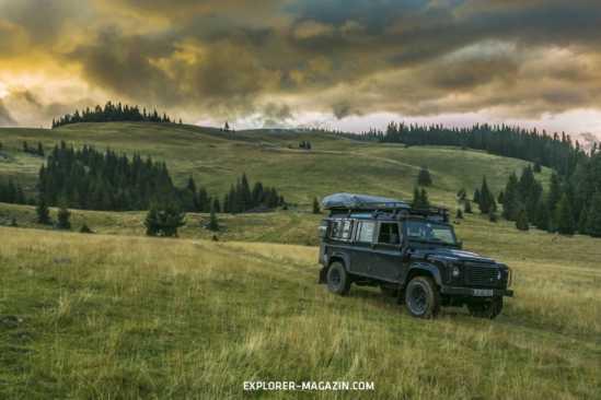 Rumänien offroad - Land Rover Defender - Zwischen Walachei und Transsilvanien