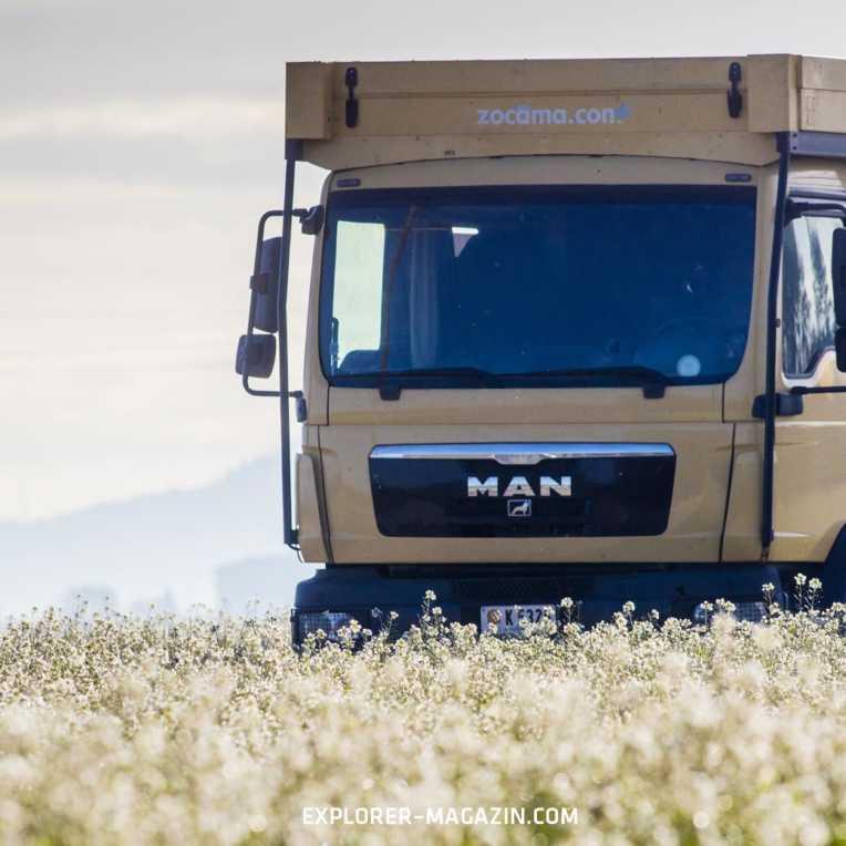 Vollintegrierter Reise-Lkw – Zocama Monovolume