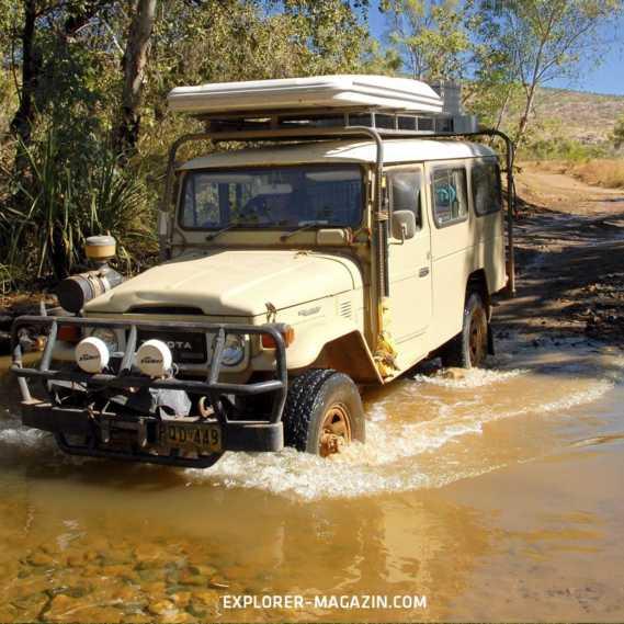 Zentral-Australien offroad: Unterwegs am Mittelpunkt der Erde