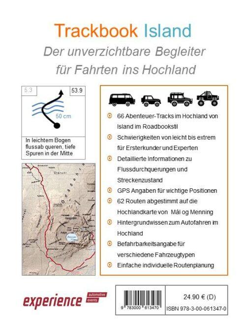 Island Offroad Touren GPS Trackbook Inhalt