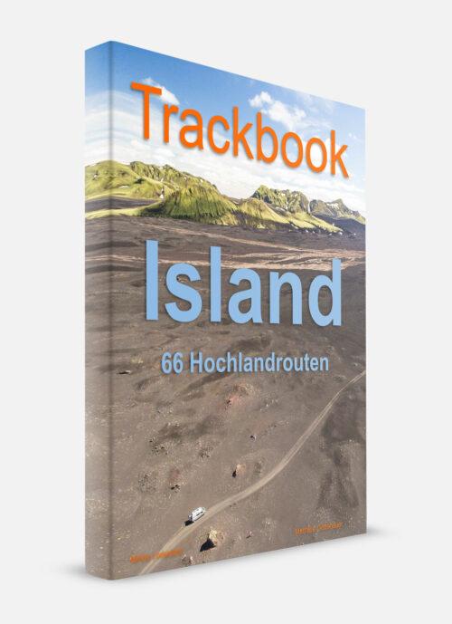 Island Offroad Touren GPS Trackbook Buch