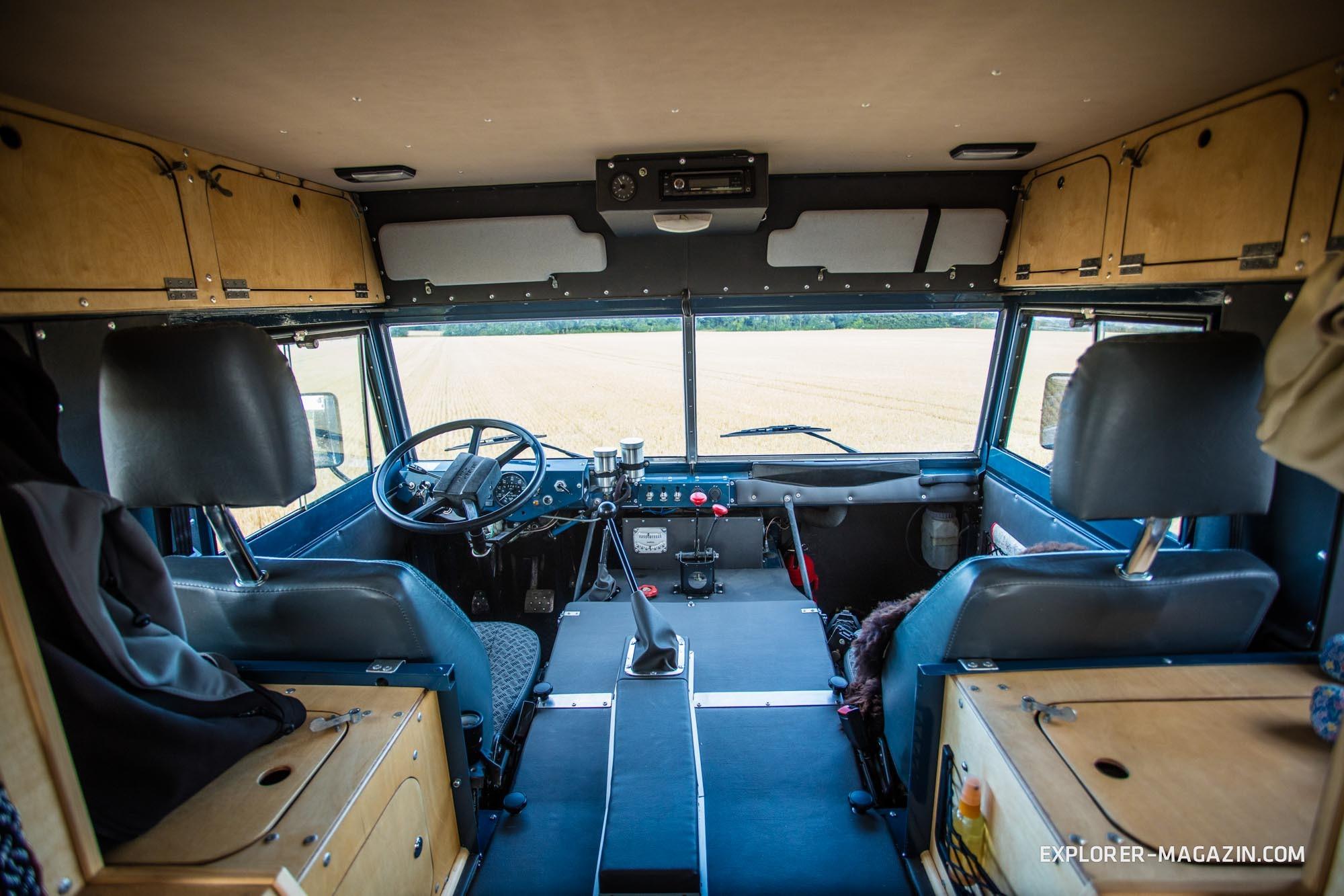 Land Rover 101 Forward Control Camper - Einzelabnahme EXPLORER Magazin