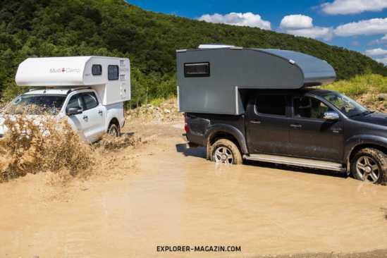 Pickup Absetzkabinen Vergleichs-Test – Ramspeck vs. Willy 180